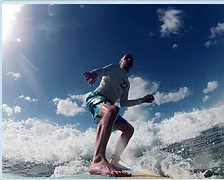 серфинг в африке